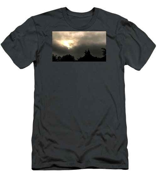 Sun Through Fog Men's T-Shirt (Athletic Fit)