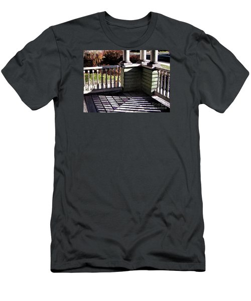 Men's T-Shirt (Slim Fit) featuring the photograph Sun Writ by Betsy Zimmerli