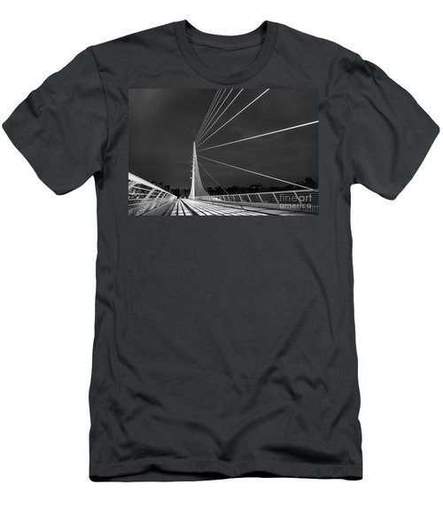 Sundial Bridge 2 Men's T-Shirt (Athletic Fit)