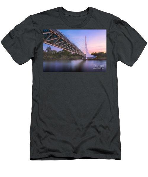 Sundial Bridge 6 Men's T-Shirt (Athletic Fit)