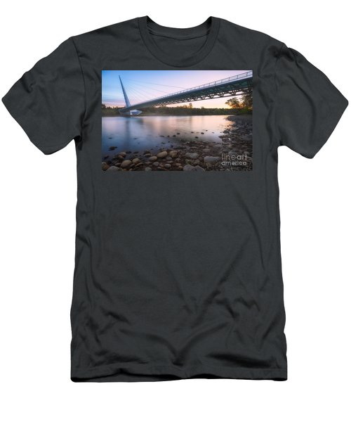 Sundial Bridge 7 Men's T-Shirt (Athletic Fit)