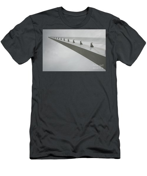 Sundial Perspective Men's T-Shirt (Slim Fit) by Carol Lynn Coronios