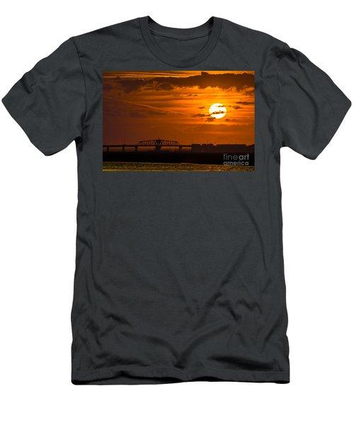 Sundown On The Charleston Coast  Men's T-Shirt (Athletic Fit)