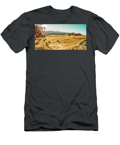 Sundown Prairie Men's T-Shirt (Athletic Fit)