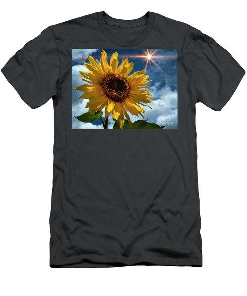 Sunflower Brilliance II Men's T-Shirt (Athletic Fit)