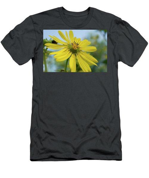Sunflower Close-up Men's T-Shirt (Athletic Fit)