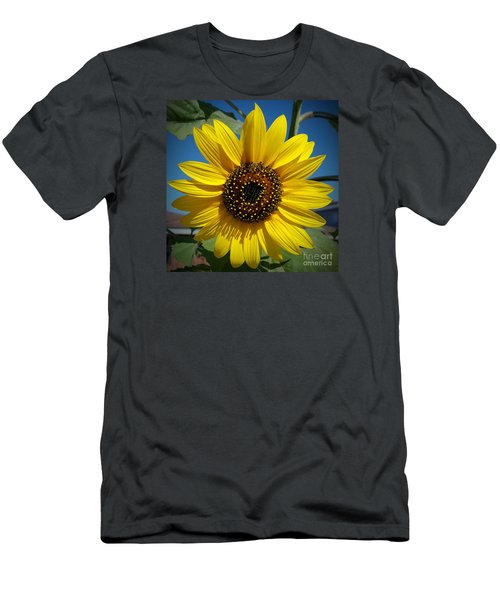 Sunflower Glow Men's T-Shirt (Slim Fit)