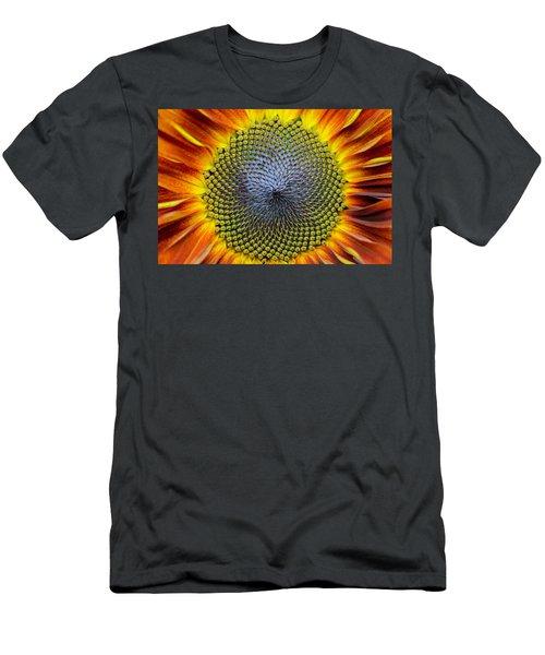 Sunflower Mendala Men's T-Shirt (Athletic Fit)