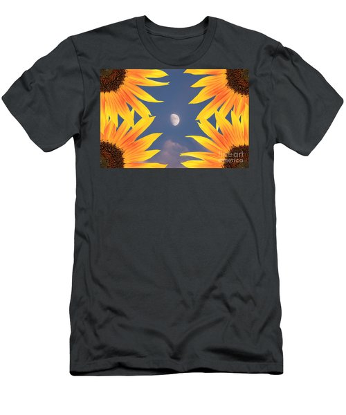 Sunflower Moon Men's T-Shirt (Athletic Fit)