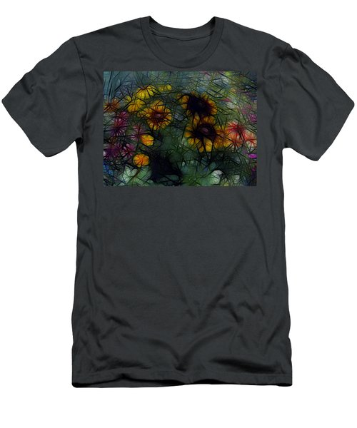 Sunflower Streaks Men's T-Shirt (Athletic Fit)