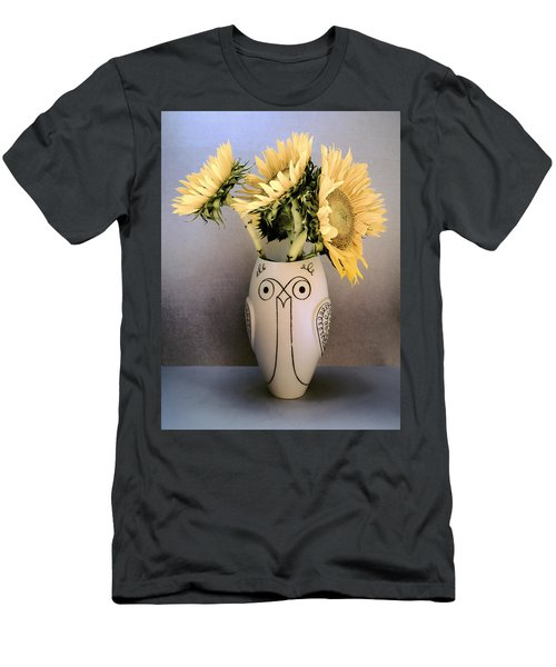 Sunflowers Before The Fade Men's T-Shirt (Athletic Fit)