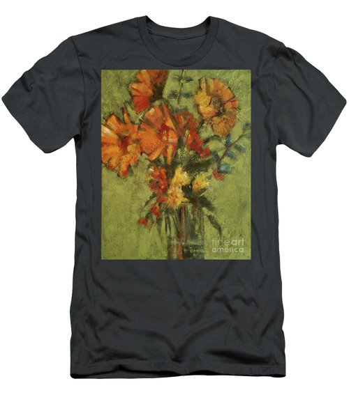 Sunflowers For Sunday Men's T-Shirt (Athletic Fit)