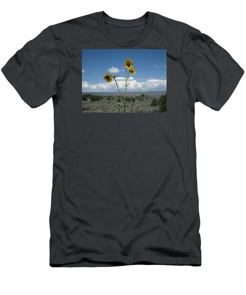 Sunflowers On The Gorge Men's T-Shirt (Athletic Fit)