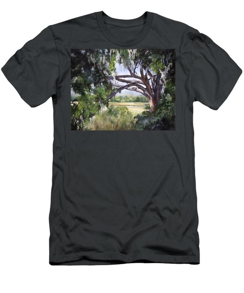 Sunlit Marsh Men's T-Shirt (Athletic Fit)