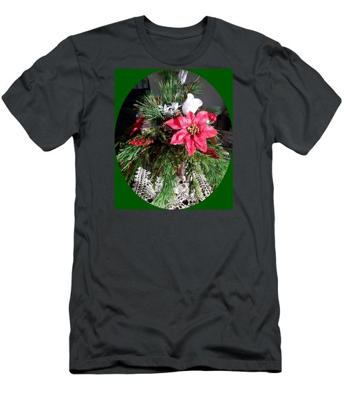 Men's T-Shirt (Slim Fit) featuring the photograph Sunlit Centerpiece by Sharon Duguay