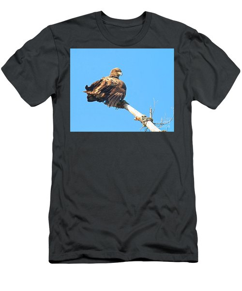 Men's T-Shirt (Athletic Fit) featuring the photograph Sunning Out On A Limb by Debbie Stahre