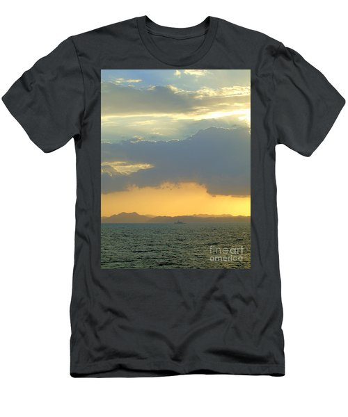 Sunrise After The Typhoon Men's T-Shirt (Athletic Fit)