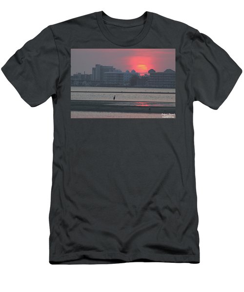 Sunrise And Skyline Men's T-Shirt (Athletic Fit)