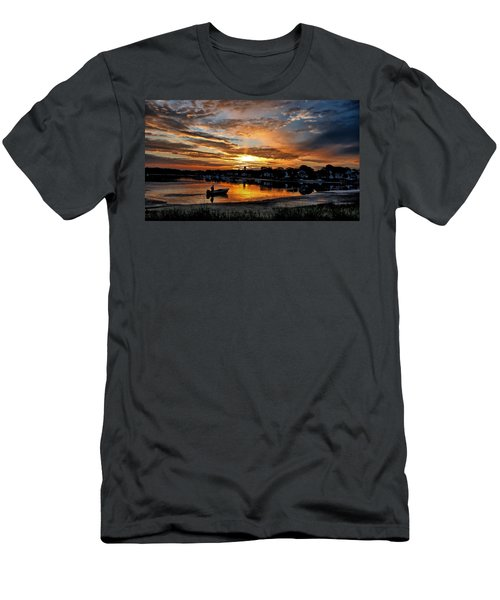 Sunrise At Back Cove Men's T-Shirt (Athletic Fit)