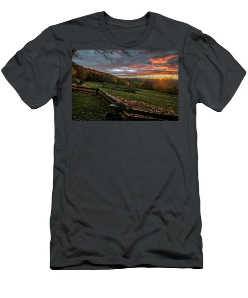 Sunrise At Cone House Men's T-Shirt (Athletic Fit)