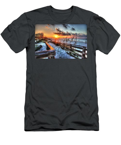 Sunrise At Cotton Bayou  Men's T-Shirt (Slim Fit) by Michael Thomas