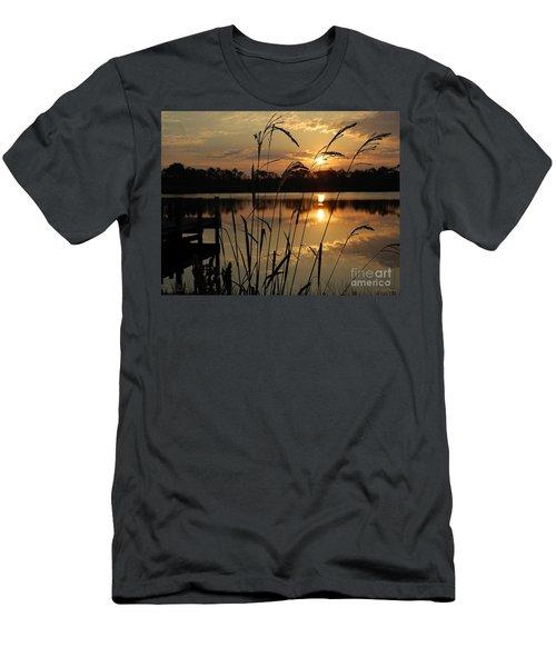 Sunrise At Grayton Beach Men's T-Shirt (Athletic Fit)