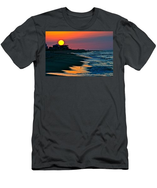 Sunrise At St. George Island Florida Men's T-Shirt (Athletic Fit)