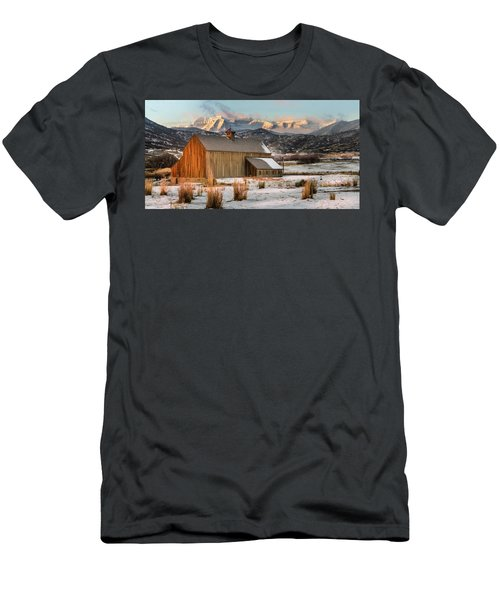 Sunrise At Tate Barn Men's T-Shirt (Athletic Fit)