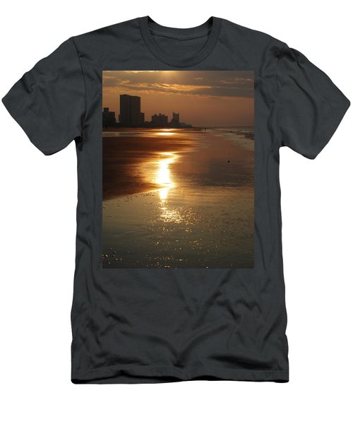 Sunrise At The Beach Men's T-Shirt (Athletic Fit)