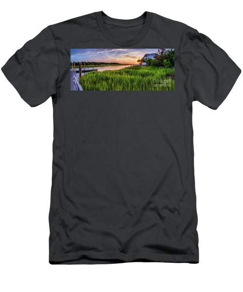 Sunrise At The Boat Ramp Men's T-Shirt (Athletic Fit)