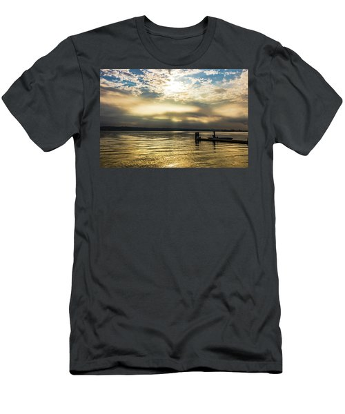 Sunrise Burning Men's T-Shirt (Athletic Fit)