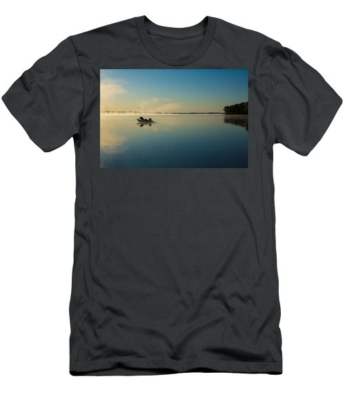 Sunrise Fishing Men's T-Shirt (Athletic Fit)