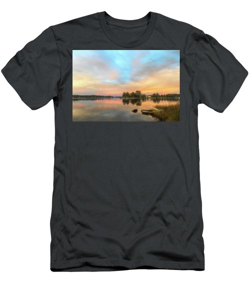 Sunrise, From The West Men's T-Shirt (Athletic Fit)