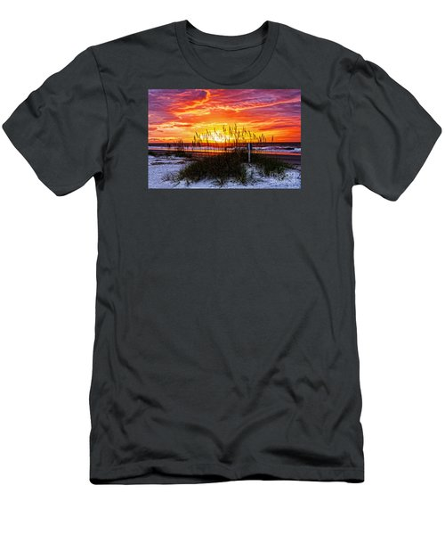 Sunrise Hilton Head Beach Men's T-Shirt (Athletic Fit)