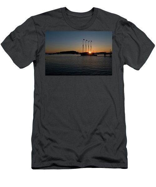 Sunrise In Bar Harbor Men's T-Shirt (Athletic Fit)