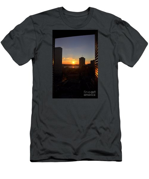 Sunrise In New Orleans Men's T-Shirt (Athletic Fit)