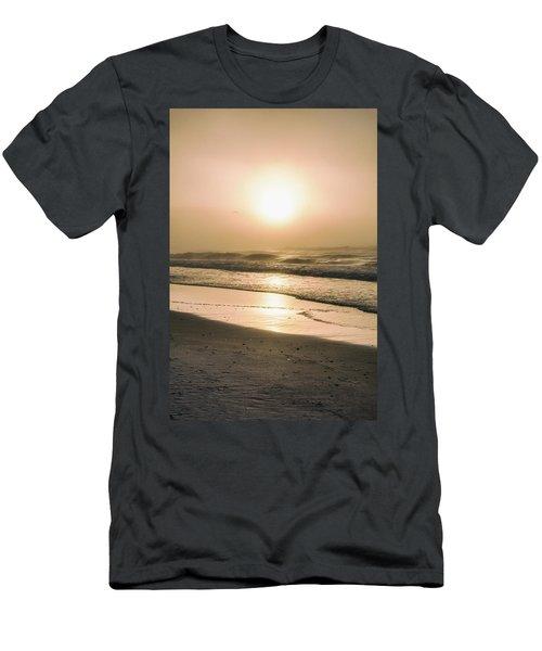 Men's T-Shirt (Slim Fit) featuring the photograph Sunrise In Orange Beach  by John McGraw