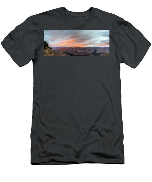 Sunrise In The Canyon Men's T-Shirt (Slim Fit) by Jon Glaser