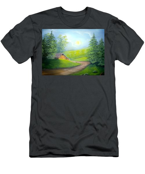 Sunrise In The Country Men's T-Shirt (Athletic Fit)