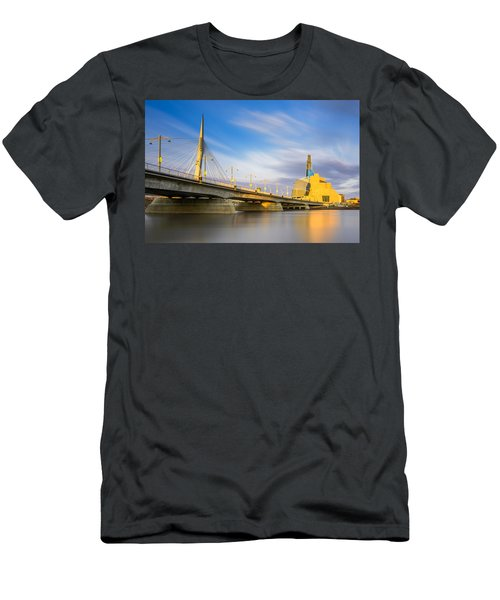 Sunrise In Winnipeg Men's T-Shirt (Athletic Fit)