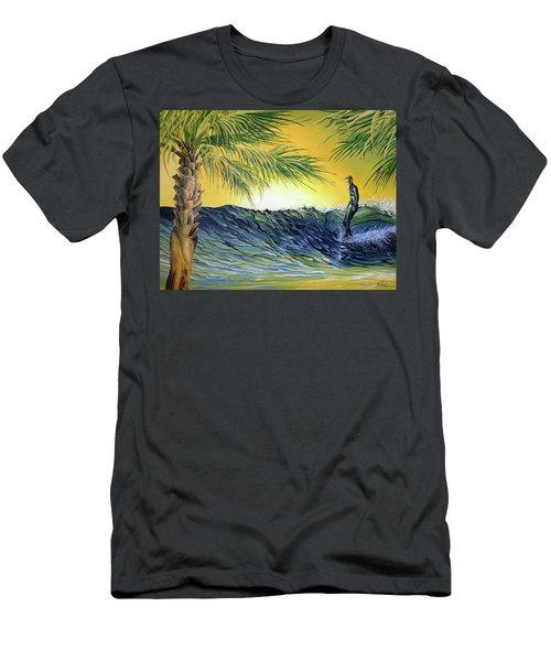 Sunrise Nose Ride Men's T-Shirt (Athletic Fit)