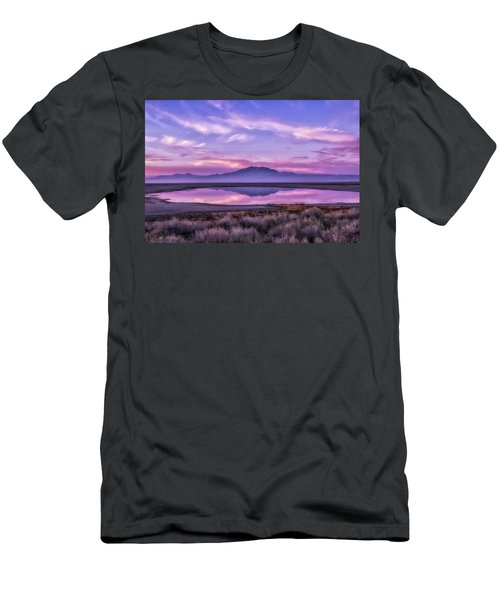 Sunrise On Antelope Island Men's T-Shirt (Athletic Fit)