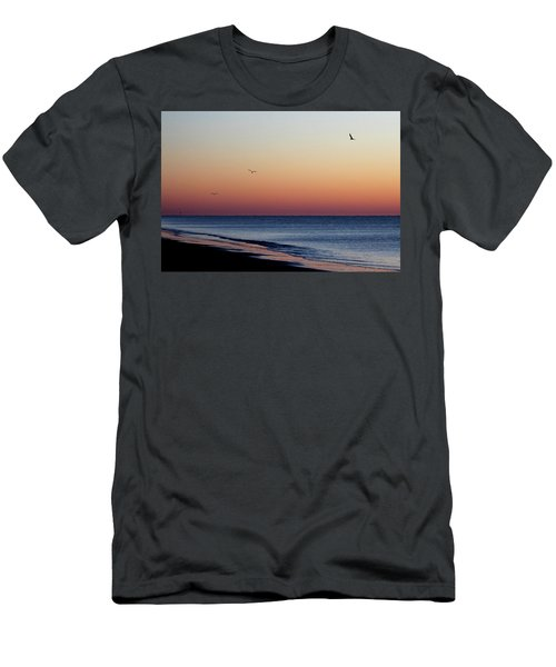 Men's T-Shirt (Slim Fit) featuring the photograph Sunrise On Hilton Head by Bruce Patrick Smith