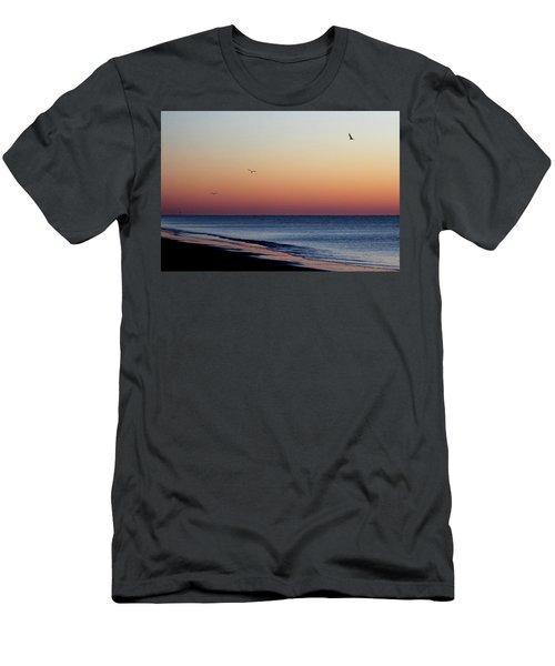 Sunrise On Hilton Head Men's T-Shirt (Slim Fit)