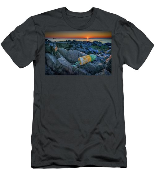 Men's T-Shirt (Athletic Fit) featuring the photograph Sunrise On Passamaquoddy Bay by Rick Berk
