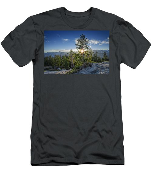 Sunrise On Sentinel Dome Men's T-Shirt (Athletic Fit)