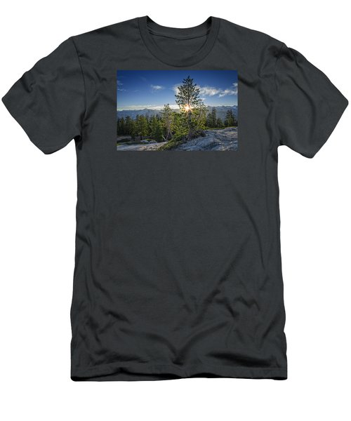 Sunrise On Sentinel Dome Men's T-Shirt (Slim Fit) by Rick Berk