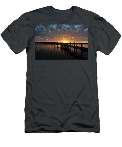 Sunrise On The Bayou Men's T-Shirt (Slim Fit)