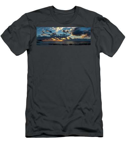 Sunrise On The French Riviera Men's T-Shirt (Athletic Fit)