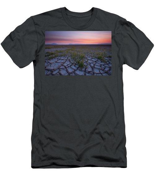 Sunrise On The Playa Men's T-Shirt (Athletic Fit)